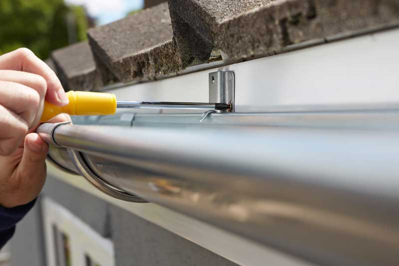 We are not just a gutter cleaning service, we replace them as well.